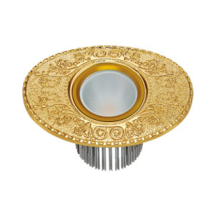 Brass LED Villa Spotlight with Antique 24k Gold Finish pictures & photos