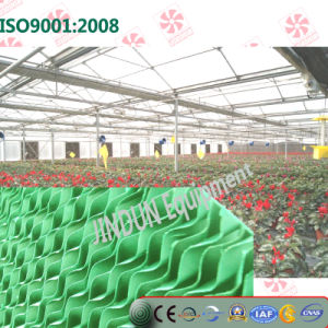 Wall Mounted Water Cooling Pad for Butterfly Orchid Greenhouse Planting