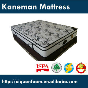 Star Hotel Luxurious Spring Base Memory Foam Knitted Fabric Mattress pictures & photos