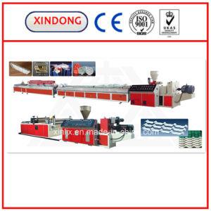 Plastic PVC/PP/PE/ Profile Production/Extrusion Line pictures & photos