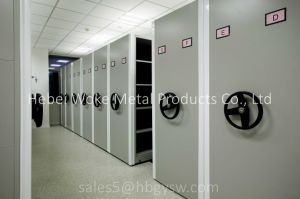 Intelligent Archive File Steel Mobile Mass Shelf pictures & photos