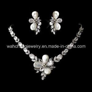 Wedding Bridal CZ Jewelry Set for Lady TF-019, Fashion CZ Necklace Set, Wedding CZ Necklace Set, Fashion Necklace