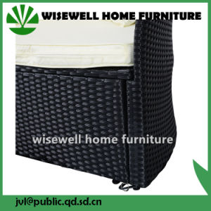 Rattan Daybed Furniture Set with Canopy (WXH-052) pictures & photos