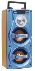 Bluetooth Speaker Wood MP3 WMA USB FM