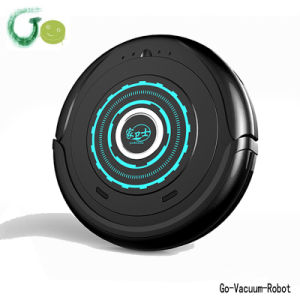 Pink Color Mini Floor Vacuum Cleaner Robot Portable Cleaning Devices Quiet Mop Robot Vacuum Cleaner One Start Button Clean Hoover pictures & photos