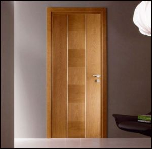 2015 popular hotsale single wood door design manufacturer for Wooden single door design for home