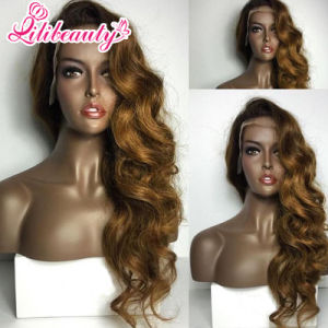Glueless Front Lace Wig Virgin Peruvian Human Hair Wig pictures & photos