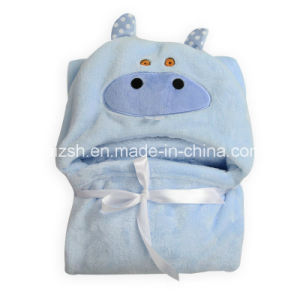 Cartoon Animal Shape Baby Hooded Cloak pictures & photos