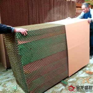 Poultry Farm Ventilation System / Qingzhou Evaporative Air Cooling Pad / Pad Wall for Poultry pictures & photos
