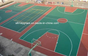 Outdoor Si-PU Sports Surface for Basketball/Tennis/Vollyball/Badminton