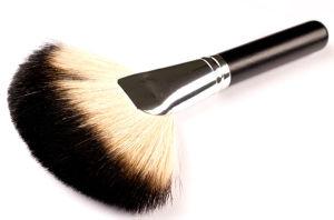 Racoon Hair Fan Makeup Brush