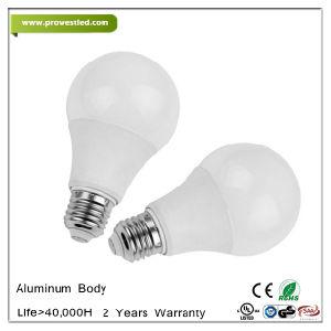 aluminum body 5w 7w 9w 12w e27b22 led light bulb