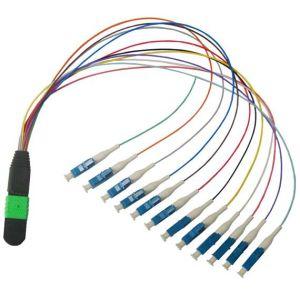 MPO-LC/Upc Ribbon Fiber Optical Patch Cord
