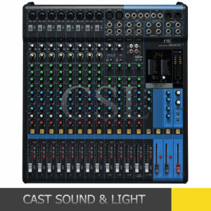 Mg16xu 16-Channel Mixer with Effects, Portable Mixing Console pictures & photos