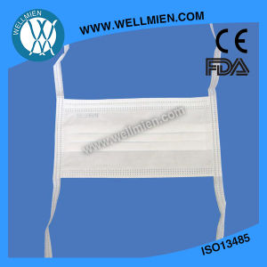3 Ply Disposable Nonwoven Medical Face Mask with Ties pictures & photos