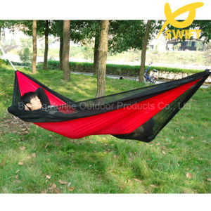 Red Patio Parachute Nylon Swing