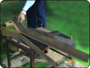 Hydraulic Angle Steel Bending pictures & photos