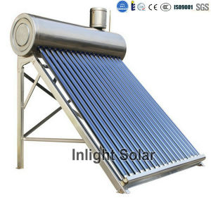 Stainless Steel Low Pressure Solar Water Heaters pictures & photos