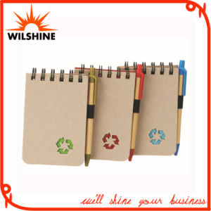 Eco Friendly Bulk Notebook with Recycled Paper Pen (PNB045) pictures & photos