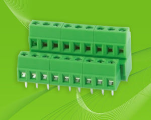 PCB Screw Terminal Block with Low and High Position pictures & photos