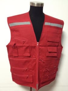 Protective High Visibility Workwear Hi Vis Safety Reflective Vest pictures & photos