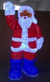 Father Christmas Decoration LED Light (TV577) pictures & photos