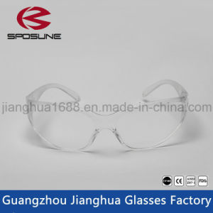 Hospital Protection Safety Goggles Clear Medical Safety Glass Construction Safety Glasses pictures & photos