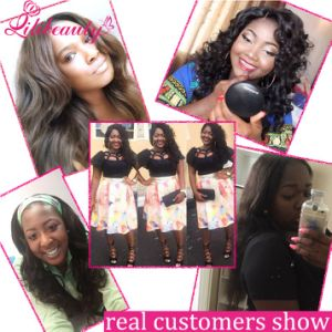 Brazilian Remy Human Hair Body Wave 13X4 Lace Frontals pictures & photos