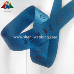 40mm Nylon Jacquard Webbing (jacquard webbing with customized logo) pictures & photos