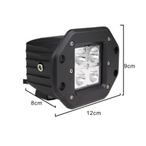 16W Flush Mount CREE LED Work Light pictures & photos