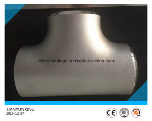 Seamless Duplex Stainless Steel S31803 Pipe Butt Welding Tee pictures & photos