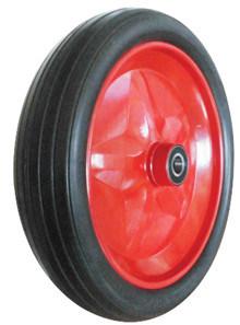 PU Wheels for Wheel Barrow Hand Trolley Tool Cart PU1404