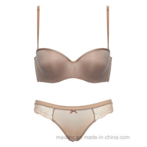 Hot Selling Seamless Ladies Brief and Bra pictures & photos
