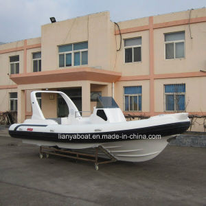 Liya 16 Passengers Rigid Hypalon Inflatable Rib Boat Made in China pictures & photos