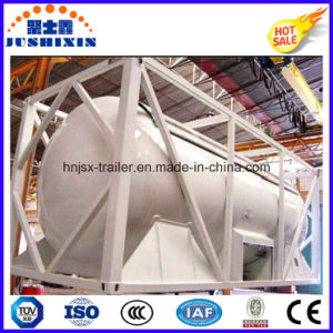 40FT 20FT 22.5cbm ISO Bulk Coal/Cement Powder Tank Container pictures & photos