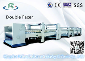 Double Facer: Corrugated Paper Making Machine pictures & photos
