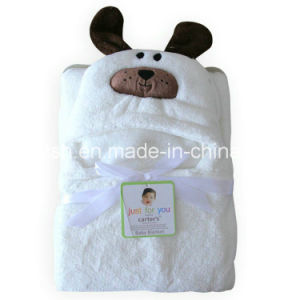 Thick Cloak Baby White Hooded Cloak Creative Animal Shaped Cloak pictures & photos