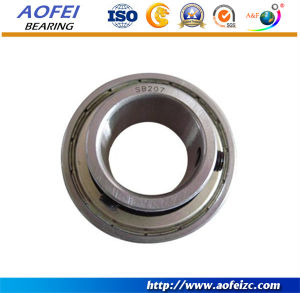 Aofei Manufactory supply SB207 Spherical bearing Ball bearing units