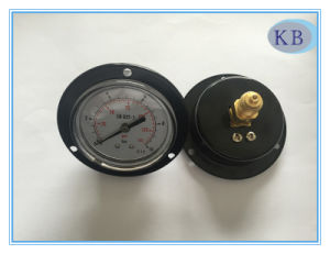 Black steel Pressure Gauge D63mm pictures & photos