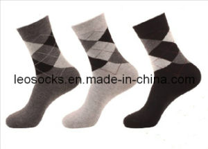 2016 Cotton Busniess Men Socks (DL-MS-100) pictures & photos