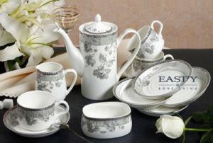 15 PCS Ceramic Porcelain Tea Coffee Set (LFR6440) pictures & photos