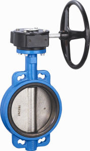 Wafer Butterfly Valve with Hand Wheel pictures & photos