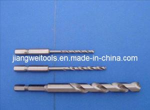 HSS Twist Drill Bits - 1/4 Hex Shank