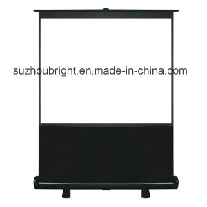 100 Inch Portable Pull up Screen Outdoor Stand Projection Screen