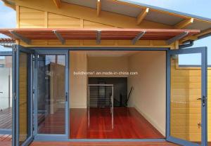 Quick Installed Luxury Class Double Glass Aluminium Folding Doors pictures & photos