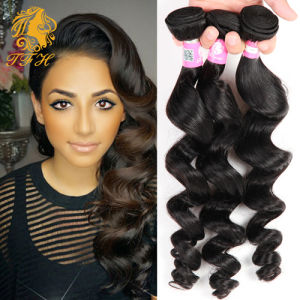 Malaysian Virgin Hair Loose Wave 7A Unprocessed Virgin Hair Malaysian Virgin Hair 4 Bundles Malaysian Loose Wave 100% Human Hair pictures & photos