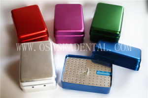 Dental Disinfect Equipment for Fg Bur and Reamer Files Sterilization 120 Holes with Ruler pictures & photos