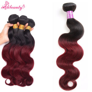 Wholesale 3 Tone Brazilian Virgin Human Hair Body Wave Hair Bundles pictures & photos