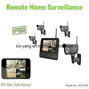 Wireless Digital Camera Kit for Home/Office/Shop Surveillance