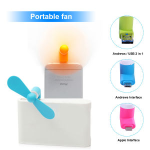 Portable Mini USB Fan for iPhone Android with Strong Wind pictures & photos